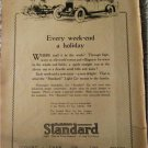 1923 Standard Touring car ad