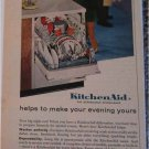 1960 KitchenAid Dishwasher ad #2