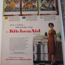 1961 KitchenAid Dishwasher ad