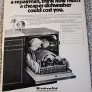 1971 KitchenAid Dishwasher ad #1