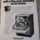 1971 KitchenAid Dishwasher ad #3