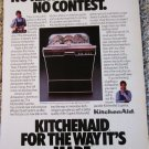 1986 KitchenAid Dishwasher ad