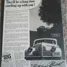 1940 Buick They'll Be A Long Time car ad