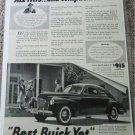 1941 Buick 2 dr Sedanet All This car ad