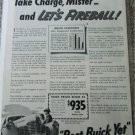 1941 Buick Take Charge car ad