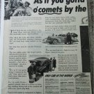 1941 Buick Special 4 door sedan String Ocomets car ad