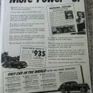 1941 Buick More Power car ad