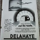 1956 Delahaye Type 135 car ad