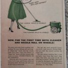 1955 Lewt Finger Tip Cleaning Vacuum Cleaner ad
