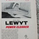 1956 Lewt Power Cleaner ad