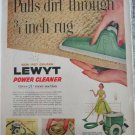 1957 Lewt Golden Power Cleaner ad