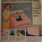 1957 Maytag Lint Remover Automatic Washer ad