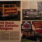 1948 Buick Super Estate Station Wagon car article