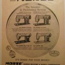 1959 Morse Sewing Machines ad