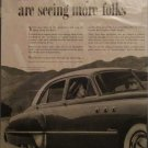 1949 Buick Super 4 dr sedan Faraway car ad