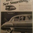 1949 Buick Super 4 dr sedan See Something car ad