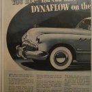 1949 Buick Super 2 dr sedan You Bet car ad