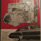 1949 Buick Super 2 dr sedan Power Plant car ad