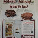 1951 Admiral Model 1191 Refrigerator ad #1