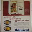 1951 Admiral Model 1191 Refrigerator ad #2