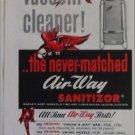 1953 Air-Way Vacum Cleaner ad