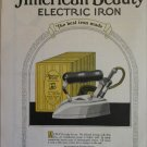 1923 American Beauty Electric Iron ad #1