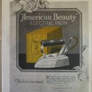 1923 American Beauty Electric Iron ad #2