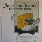 1924 American Beauty Electric Iron ad