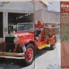 1930 Ahrens-Fox Fire Truck article