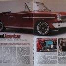 1964 American Motors American Convertible car article