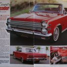 1966 American Motors Ambassador Convertible car article