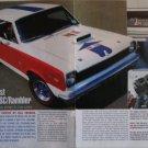 1969 American Motors Rambler SCRambler car article