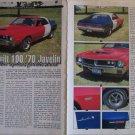 1970 American Motors Javelin car article