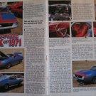 1971 American Motors AMX car article