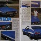1973 American Motors Javelin car article