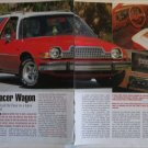 1978 American Motors Pacer Station Wagon car article