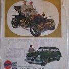 Gulf Pride ad featuring a 1906 Autocar Roadster