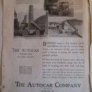1918 Autocar Trucks ad