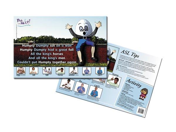 Nursery Rhyme Posters - Humpty Dumpty