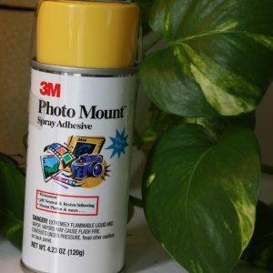 Photo Mount Spray Adhesive