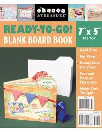 Ready-To-Go Blank Board Book - Tab Top