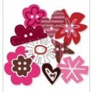 KI Memories Chipboard Buttons - Love Elsie - BETTY