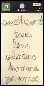 Love Wire Words - Making Memories