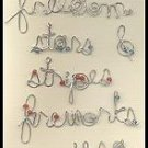 Americana Wire Words - Making Memories