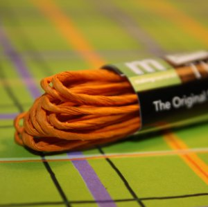 Twistel Scrapbook Yarn - Marigold - Making Memories