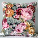 RALPH LAUREN CUSTOM 14 X14 ALLISON FLORAL ACCENT PILLOW