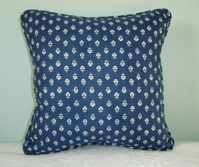 RALPH LAUREN CUSTOM COTE D'AZUR 14X14 PILLOW
