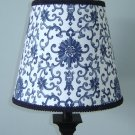 RALPH LAUREN CUSTOM BLUE PORCELAIN TOILE LAMPSHADE