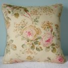 RALPH LAUREN CUSTOM WOODSTOCK GARDEN & CALICO PILLOW 16""