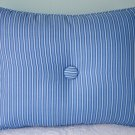 RALPH LAUREN CUSTOM DRIVER STRIPE 12X16 ACCENT PILLOW WITH BUTTONS